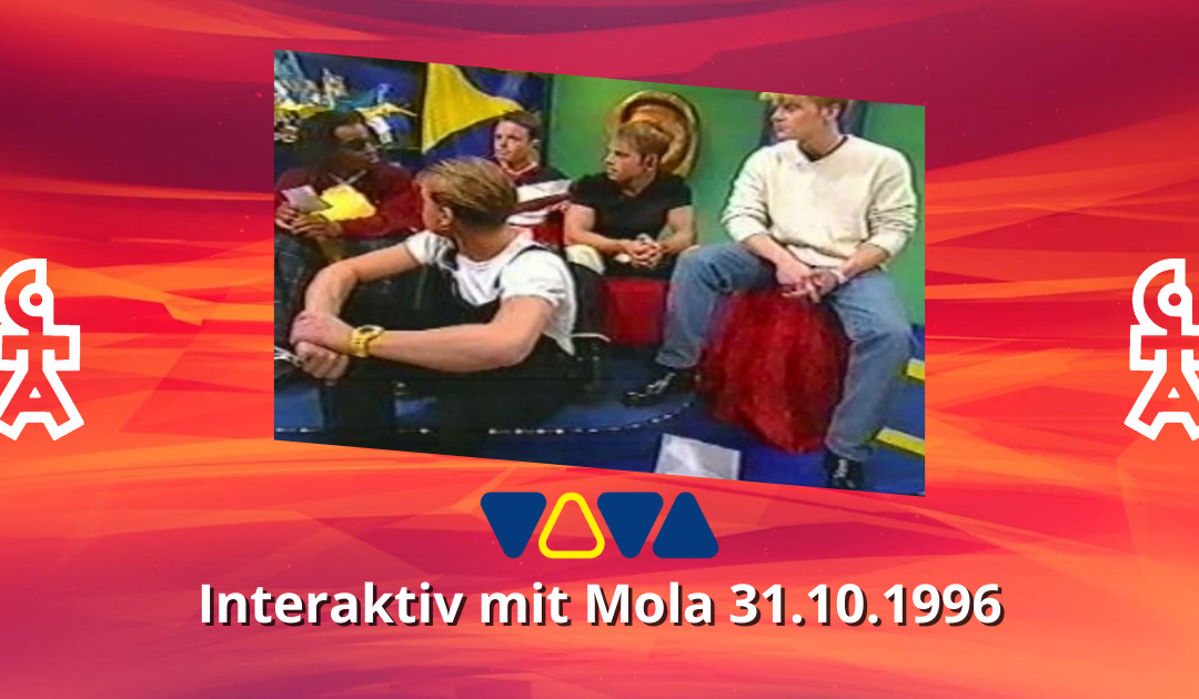 Caught In The Act   VIVA Interaktiv mit Mola   31.10.1996