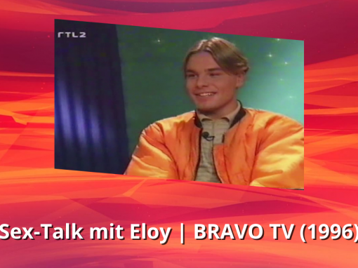 Eloy de Jong | Sex-Talk | BRAVO TV (1996)