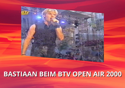 Bastiaan Ragas | You complete me & Still believe in love | BTV Open Air (2000)