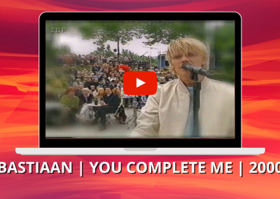 Bastiaan Ragas | You complete me | ZDF Fernsehgarten (2000)