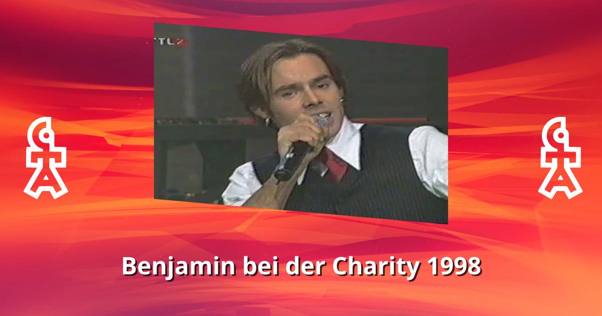 Boyce bei der Charity 1998