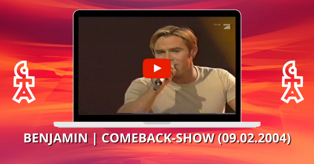 Benjamin Boyce | Love is everywhere | Comeback-Show (09.02.2004)