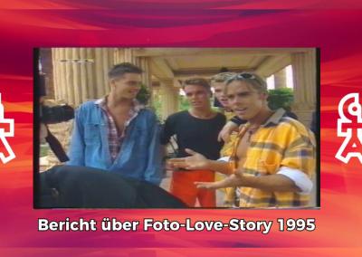 Caught In The Act | Bericht über Birgit und Dreh der Foto Love Story | RTL Exclusiv (1995)