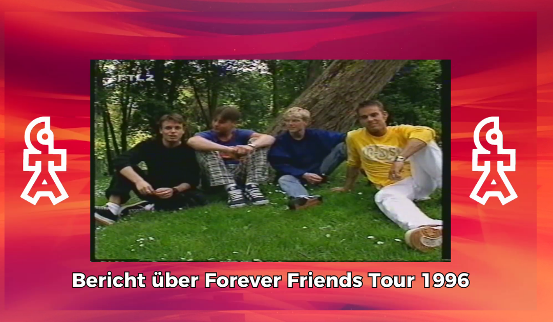 Caught In The Act | Bericht über Forever Friends Tour | BRAVO TV (1996)
