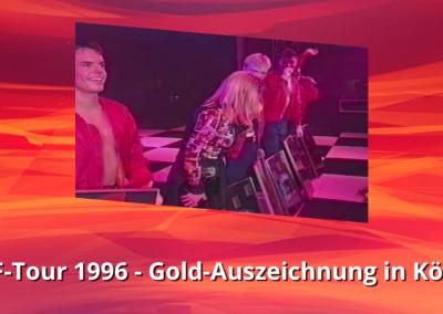 Caught In The Act | Forever Friends Tour | Gold-Auszeichnungen in Köln | VIVA (1996)