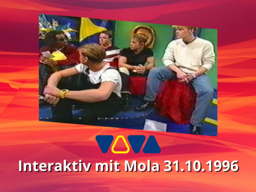 Caught In The Act | VIVA Interaktiv mit Mola | 31.10.1996