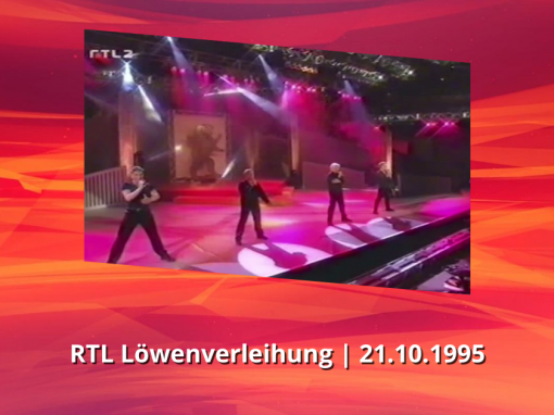 Caught In The Act | You know | RTL Löwenverleihung (21.10.1995)