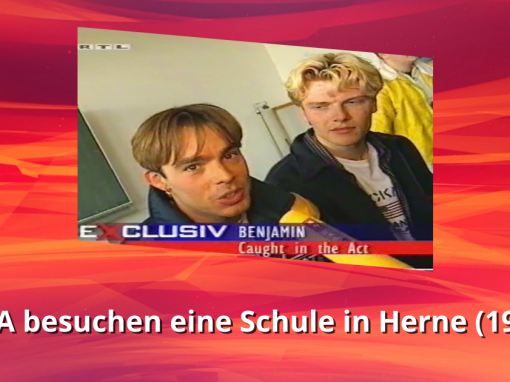 Caught In The Act | Schulbesuch in Herne | RTL Exclusiv (1997)