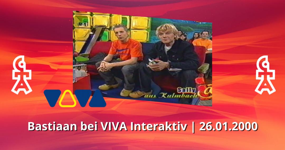 Bastiaan Ragas | VIVA Interaktiv | 26.01.2000