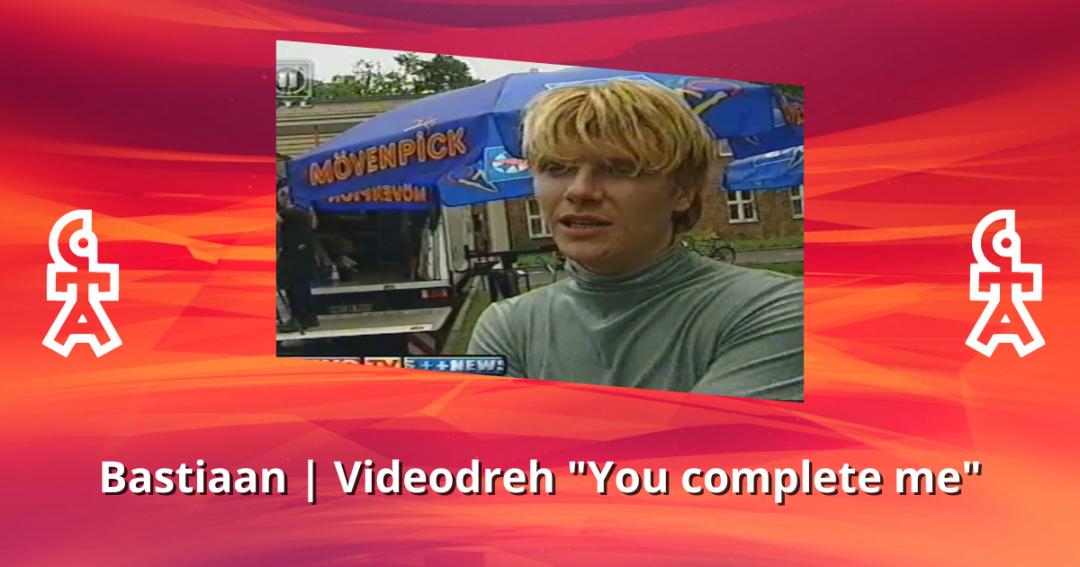Bastiaan Ragas | Videodreh You complete me | BRAVO TV (2000)