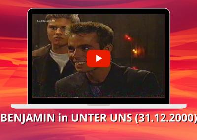 Benjamin Boyce | Unter Uns (31.12.2000)