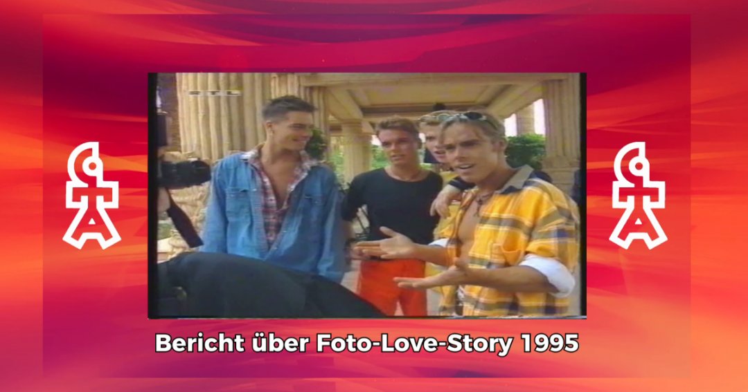 Caught In The Act | Bericht über Birgit und Dreh der Foto Love Story | RTL Exclusiv (1995)