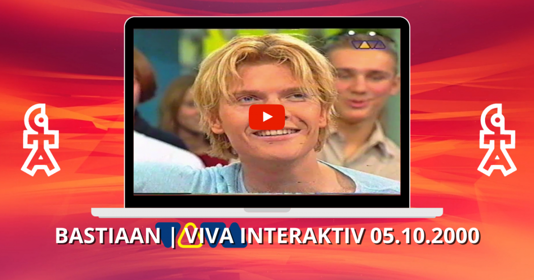 Bastiaan Ragas | Interview & You complete me | VIVA Interaktiv (05.10.2000)
