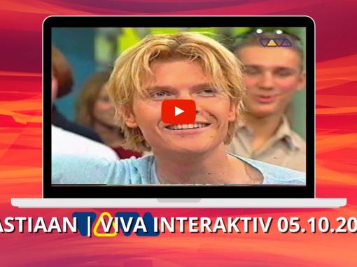 Bastiaan Ragas | Interview & You complete me | VIVA Interaktiv (05.10.2000)
