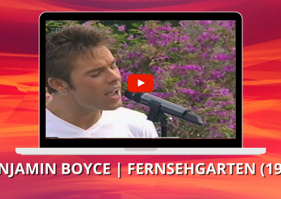 Benjamin Boyce | Change | ZDF Fernsehgarten (1999)