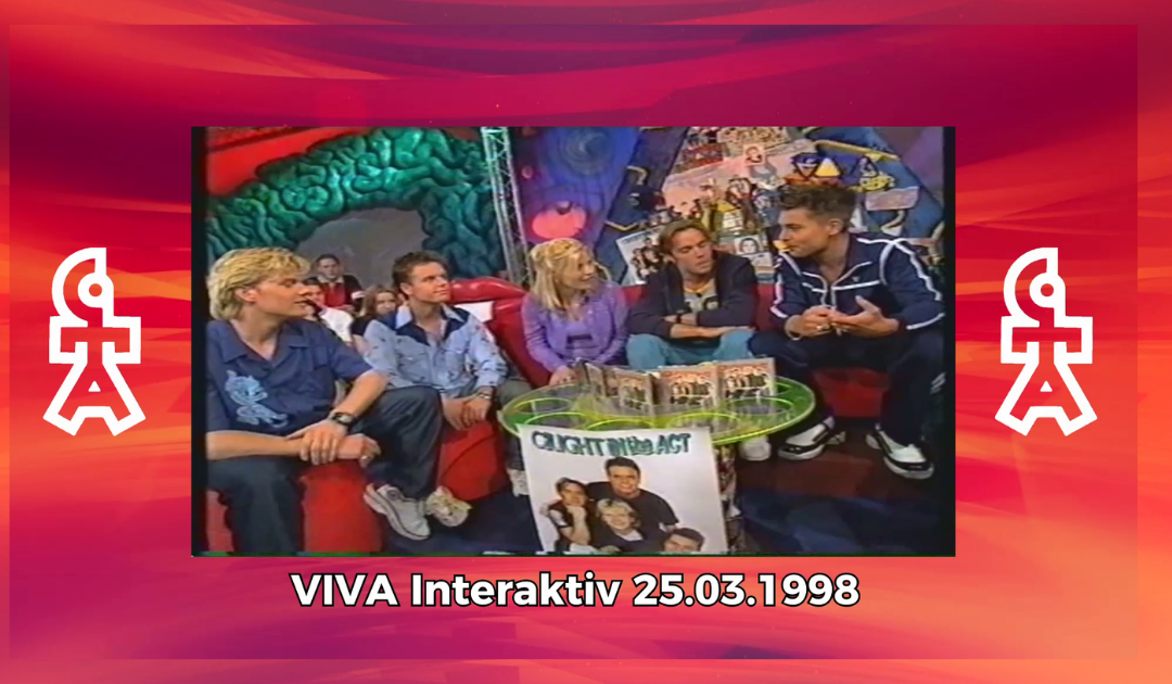 Caught In The Act | VIVA Interaktiv mit Aleksandra Bechtel (25.03.1998)