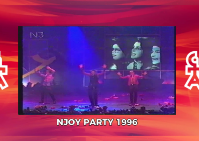 Caught In The Act | Auftritt NJOY Party (1996)