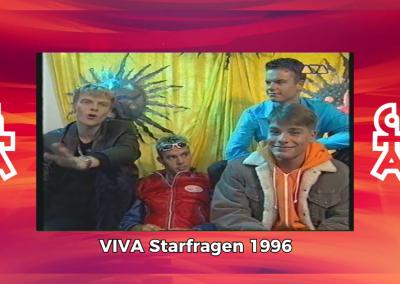 Caught In The Act | VIVA Starfragen 1996