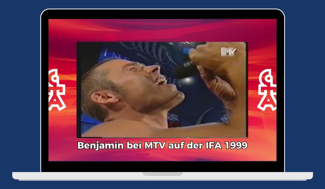 Benjamin Boyce | MTV live auf der IFA Berlin (1999)