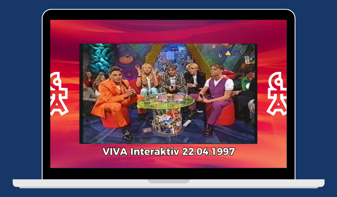 Caught In The Act | VIVA Interaktiv mit Nadine (22.04.1997)