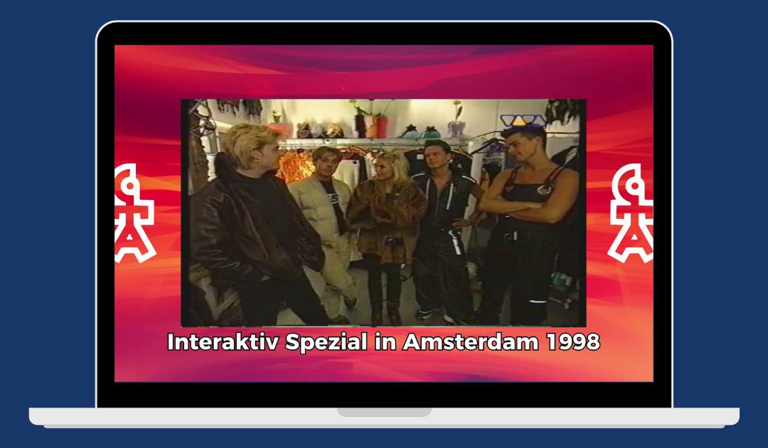 Caught In The Act | Aleksandra Bechtel besucht CITA in Amsterdam | VIVA Interaktiv Spezial (1998)