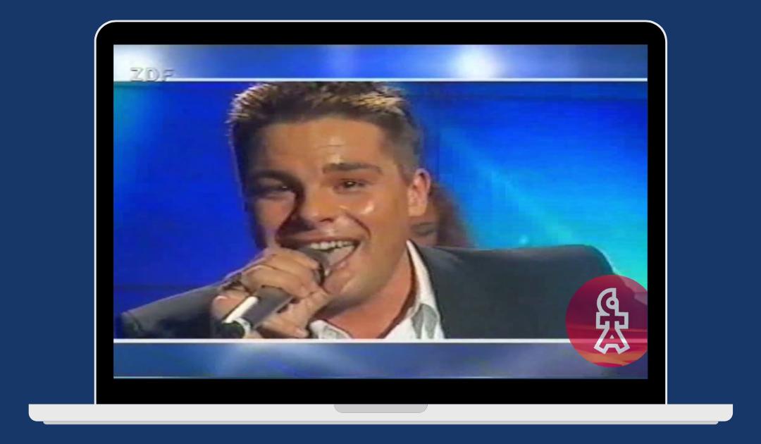 Eloy de Jong | You give me love | ZDF Hitparade (1998)