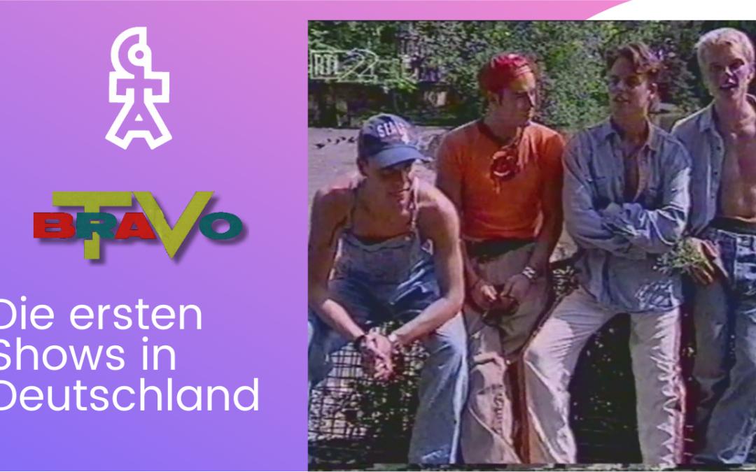 Caught In The Act | Bericht über die ersten Shows in Deutschland | BRAVO TV (1995)