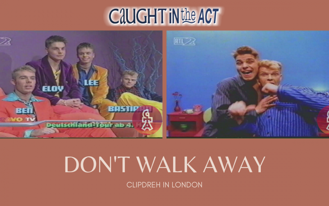 "Caught In The Act | Clipdreh ""Don't walk away"" 