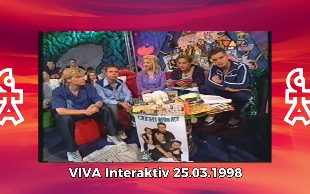 Caught In The Act | VIVA Interaktiv mit Aleksandra Bechtel (25.03.1998)