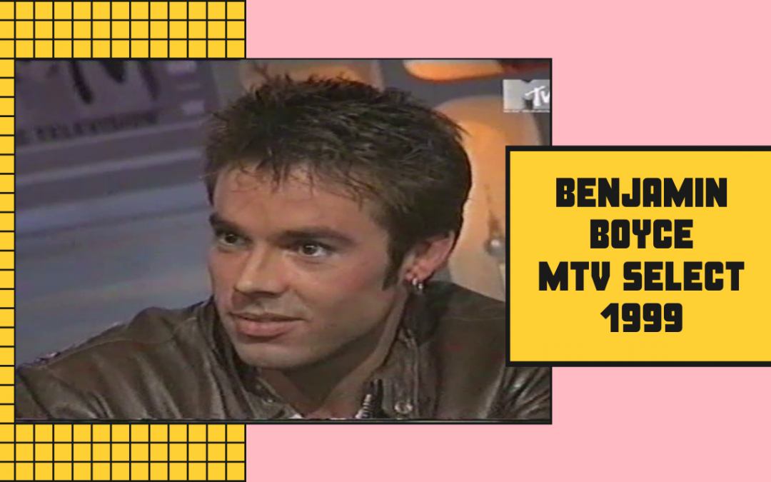 Benjamin Boyce | Interview | MTV Select (1999)
