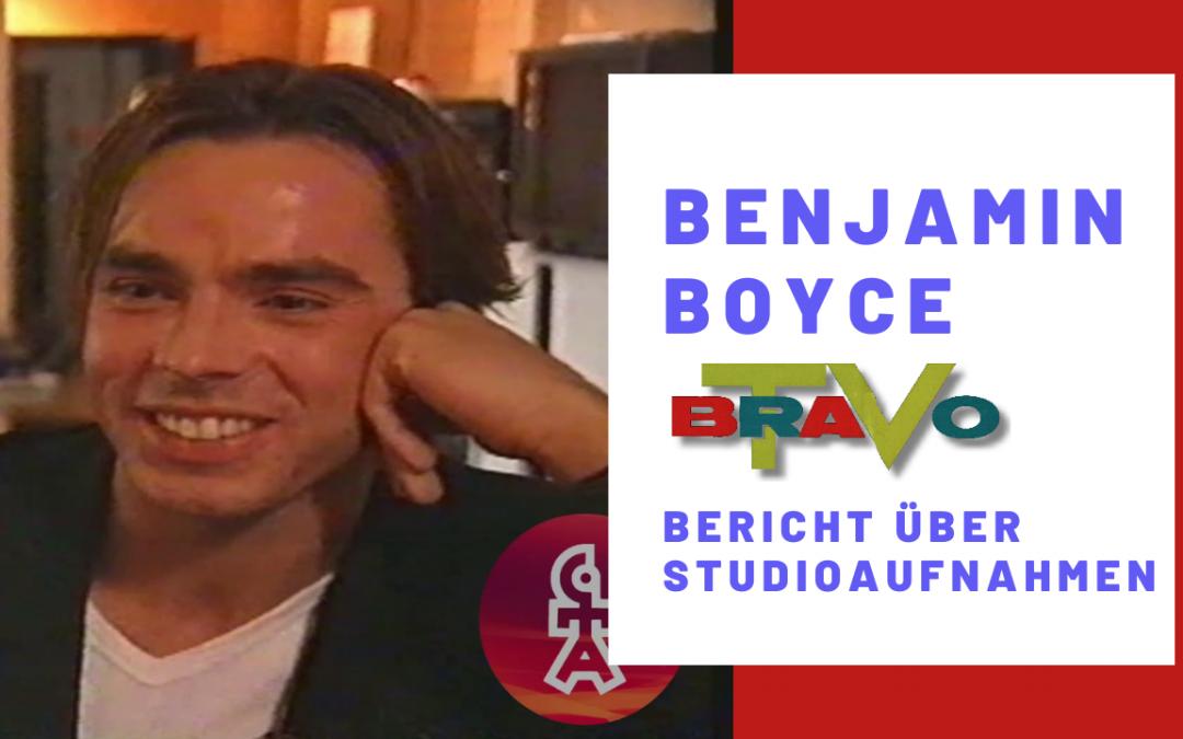 Benjamin Boyce | Bericht über Studioaufnahmen | BRAVO TV (1998)