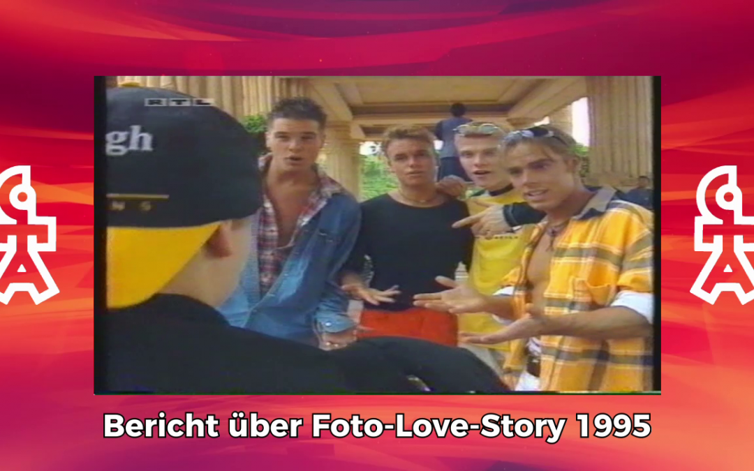 Caught In The Act | Bericht über Dreh der Foto Love Story | RTL Exclusiv (1995)