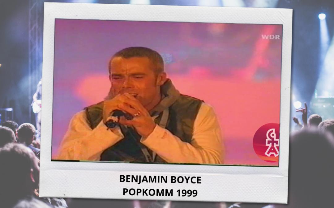Benjamin Boyce   Change & 10.000 Lightyears   Popkomm (1999)