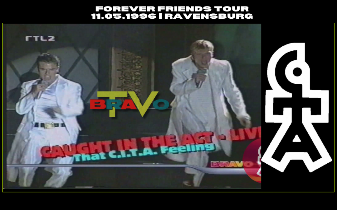 Caught In The Act | Bericht über Forever Friends Konzert in Ravensburg | BRAVO TV (11.05.1996)