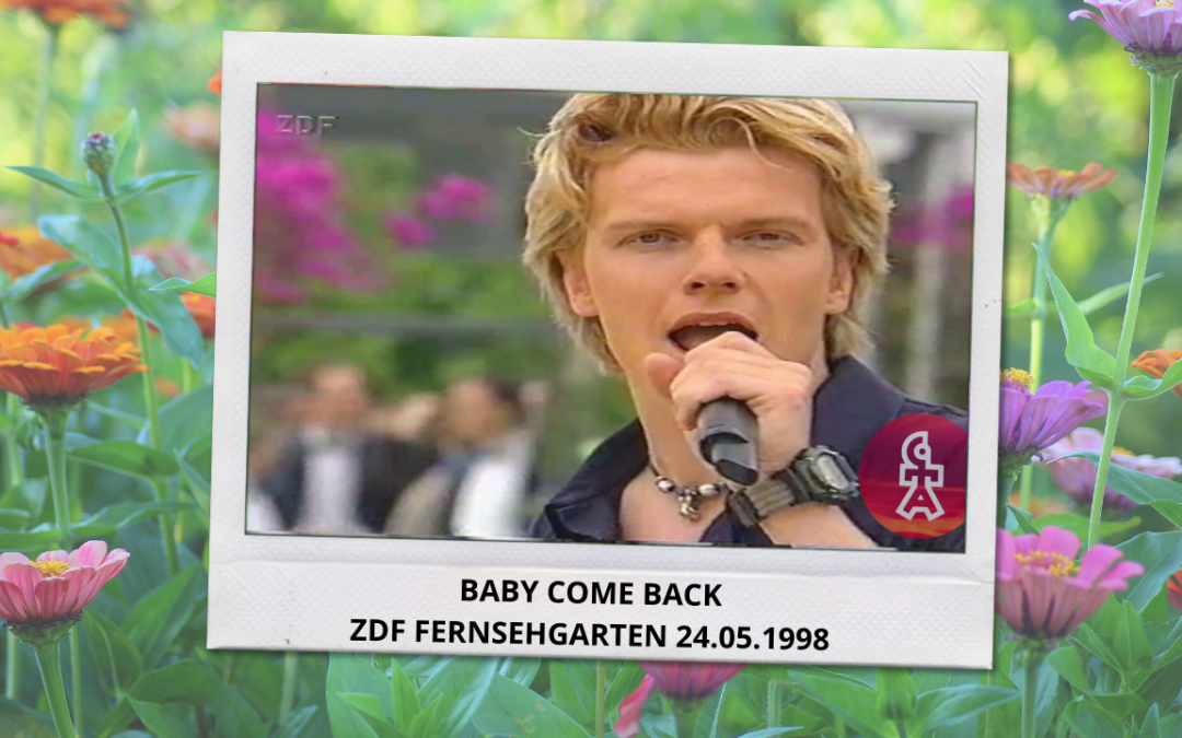 Caught In The Act | Baby come back | ZDF Fernsehgarten (24.05.1998)