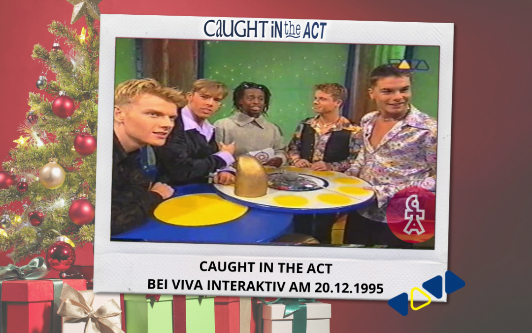 Caught In The Act | VIVA Interaktiv mit Mola Adebisi (20.12.1995)