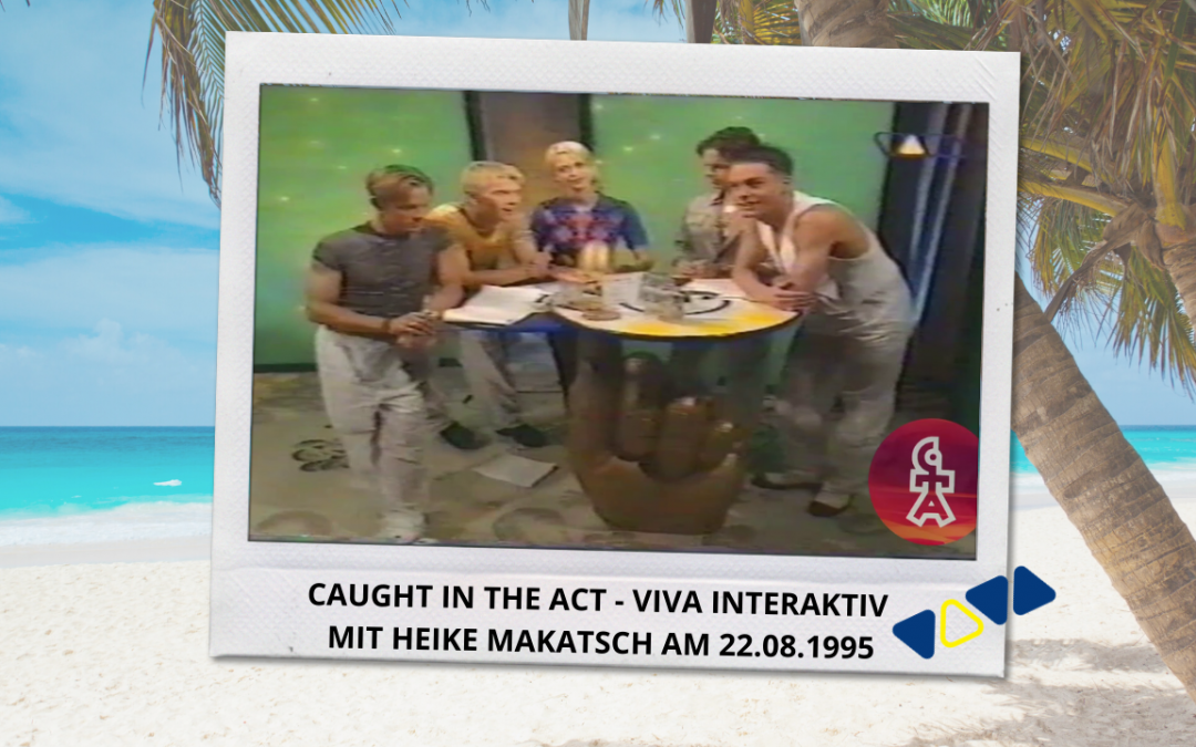 Caught In The Act | VIVA Interaktiv mit Heike Makatsch (22.08.1995)