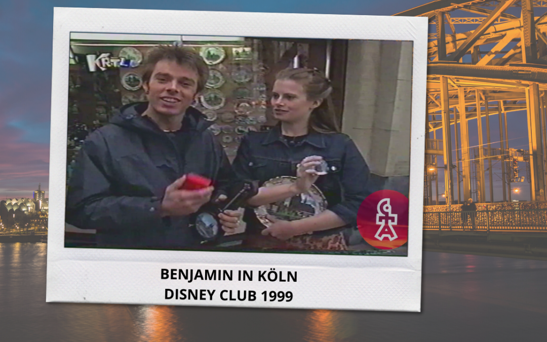 Benjamin Boyce | Interview in Köln | Disney Club (1999)