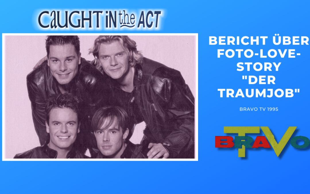 "Caught In The Act | Bericht über Foto-Love-Story ""Der Traumjob"" | BRAVO TV (1995)"